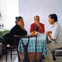 Enrica con Aronne Galeotti e Vincenzo Leone